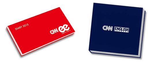 『CNN ENGLISH EXPRESS』'15オリジナル手帳・オリジナルCDケース