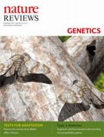 Nature Reviews Genetics:表紙