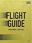 北米 航空時刻表 (英語A4版)