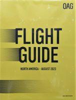 北米 航空時刻表 (英語A4版):表紙