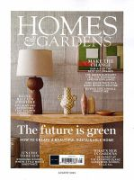 HOMES AND GARDENS:表紙