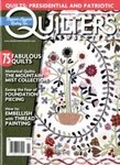 雑誌画像:QUILTER'S NEWSLETTER MAGAZINE