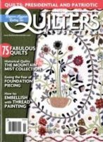 QUILTER'S NEWSLETTER MAGAZINE:表紙