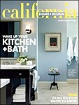 雑誌画像:CALIFORNIA HOME & DESIGN