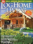雑誌画像:LOG HOME LIVING