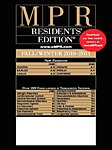 MPR RESIDENTS EDITIONの表紙