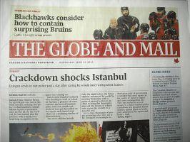 GLOBE & MAIL (THE):表紙