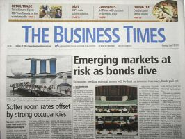 BUSINESS TIMES:表紙