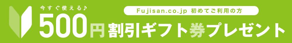 初めてのご利用またはレビュー投稿で500円OFF割引ギフト券プレゼント