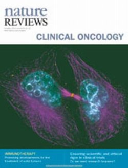 Nature Reviews Clinical Oncology 表紙