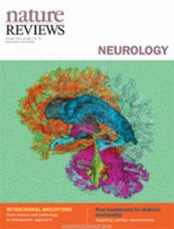 Nature Reviews Neurology(ネイチャーレビュースニューロロジー) 表紙