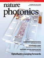Nature Photonics:表紙