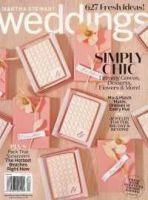 MARTHA STEWART LIV:WEDDINGS:表紙