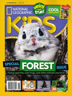 NATIONAL GEOGRAPHIC KIDS 表紙