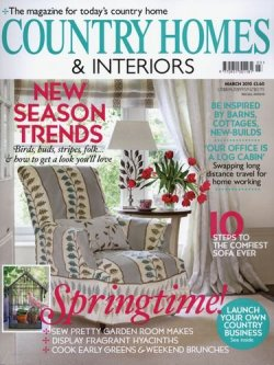 COUNTRY HOMES & INTERIORS 表紙