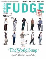 men's FUDGE(メンズファッジ):表紙