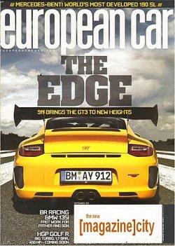 EUROPEAN CAR 表紙