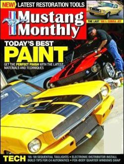 MUSTANG MONTHLY 表紙