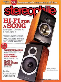 STEREOPHILE 表紙