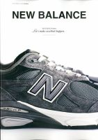 NEW BALANCE 2012 Fall & Winter Let's make excellent happen.:表紙