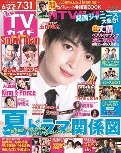 月刊TVガイド静岡版 表紙