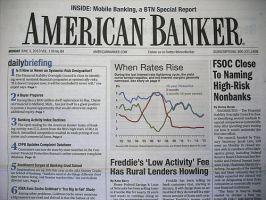 AMERICAN BANKER:表紙