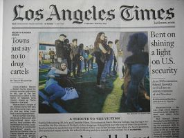 LOS ANGELES TIMES: WEEKDAY EDITION:表紙