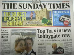 SUNDAY TIMES (THE) 表紙