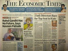 ECONOMIC TIMES (THE):表紙