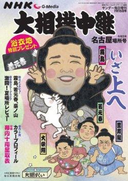 NHK大相撲中継 表紙