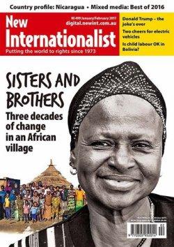 New Internationalist(ニューインターナショナリスト)英語版 No.499 (2017年03月10日発売) 表紙