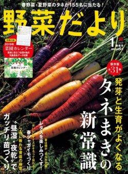 野菜だより 2019年1月号 (発売日2018年12月03日) 表紙