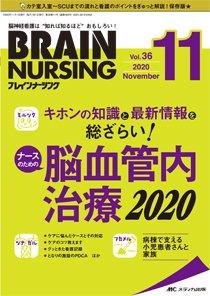 BRAIN NURSING(ブレインナーシング) 2020年11月号 (発売日2020年10月22日) 表紙