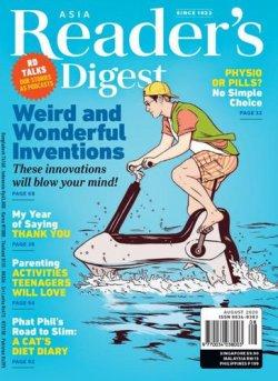 Reader's Digest Asia(リーダーズダイジェスト) Aug-20 (発売日2020年07月31日) 表紙