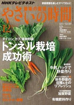 NHK 趣味の園芸 やさいの時間 12月号 (2013年11月21日発売) 表紙